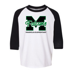 Youth Falcons Raglan Shirt