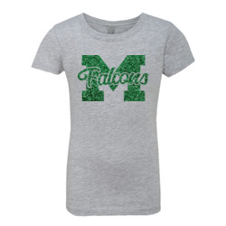 Girls Falcons Glitter T-Shirt